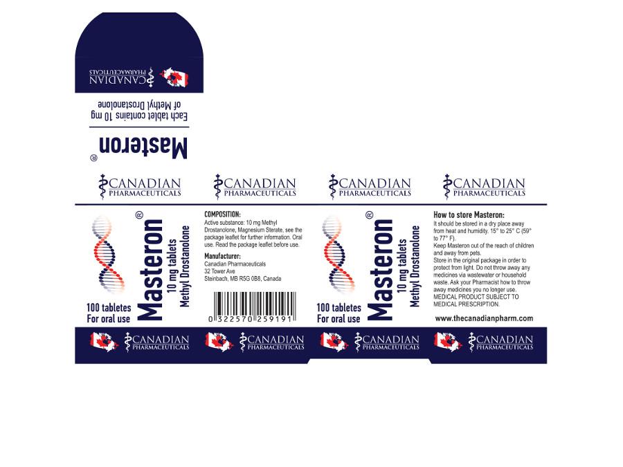 MASTERON ® 10 miligrams Tablets