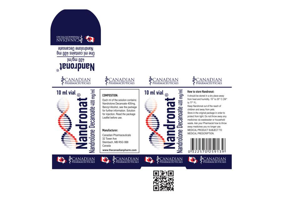 NANDRONAD 400 mg/ml