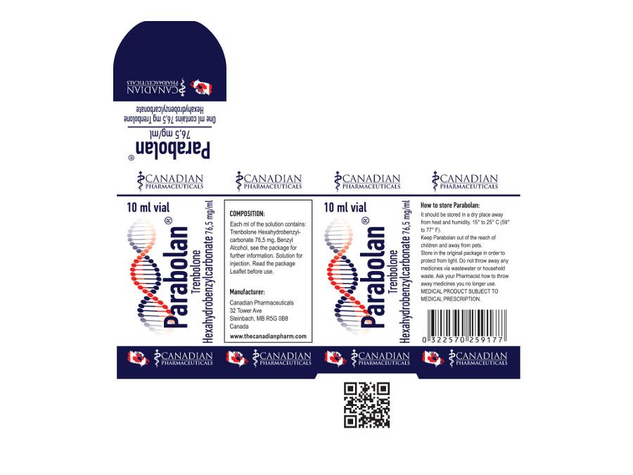 PARABOLAN 76.5 mg/ml