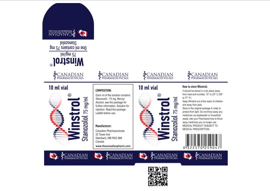 WINSTROL 75 mg/ml